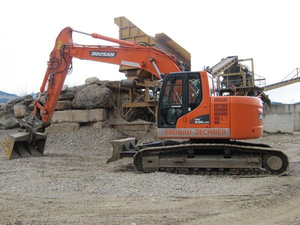 Doosan DX235 LCR 26 to